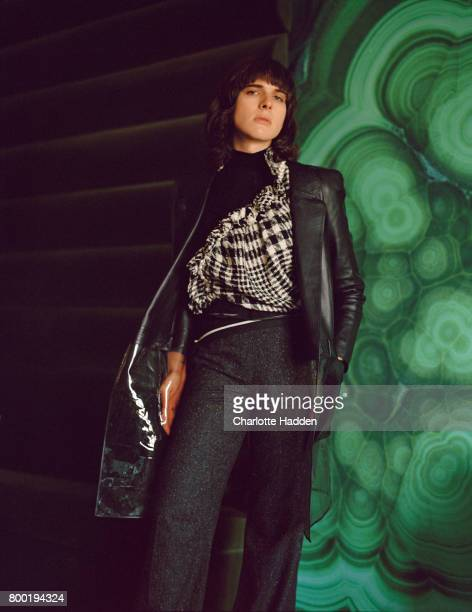 Actor, model and writer Hari Nef is photographed for Rollacoaster magazine on September 3, 2015 in London, England.