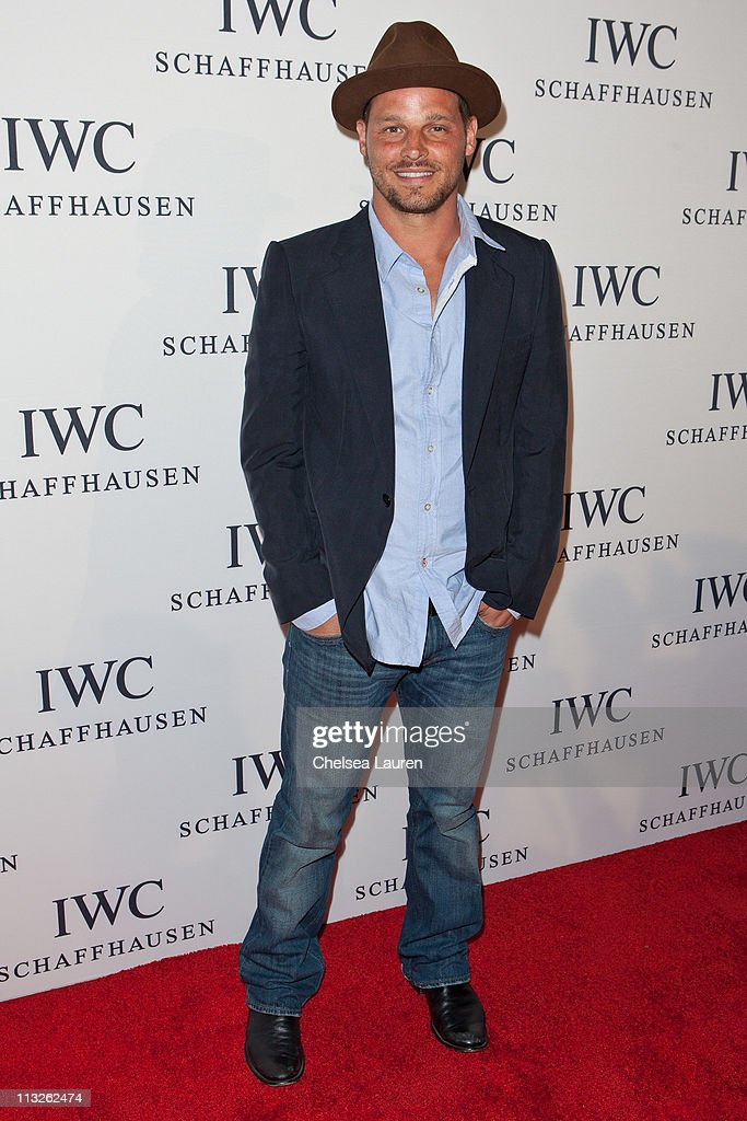 Actor / model Justin Chambers arrives at 'Peter Lindbergh's Portofino' at Culver Studios on April 28, 2011 in Culver City, California.