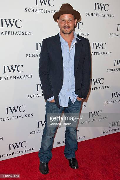 Actor / model Justin Chambers arrives at Peter Lindbergh's Portofino at Culver Studios on April 28 2011 in Culver City California