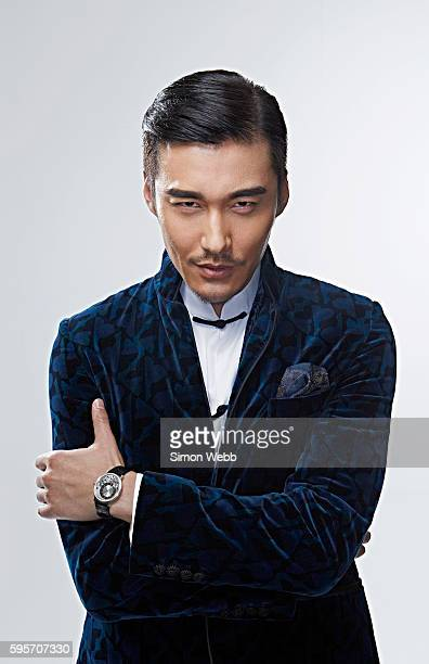 Actor model singer designer producer and philanthropist Hu Bing is photographed for GQ magazine on June 11 2015 in London England