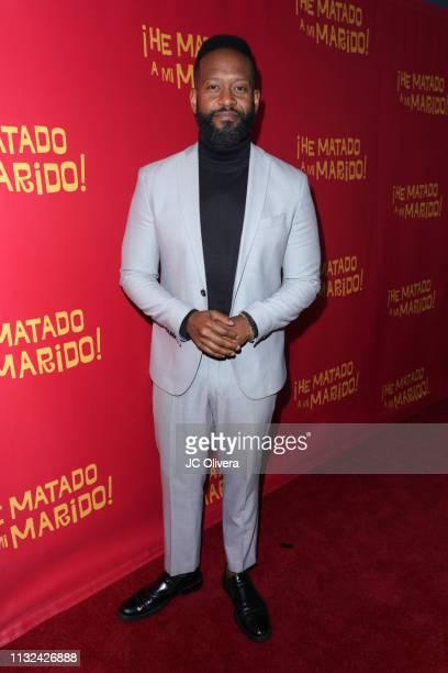 Actor Modesto Lacen attends 'HE MATADO A MI MARIDO' Los Angeles Premiere at Harmony Gold Theatre on February 26 2019 in Los Angeles California