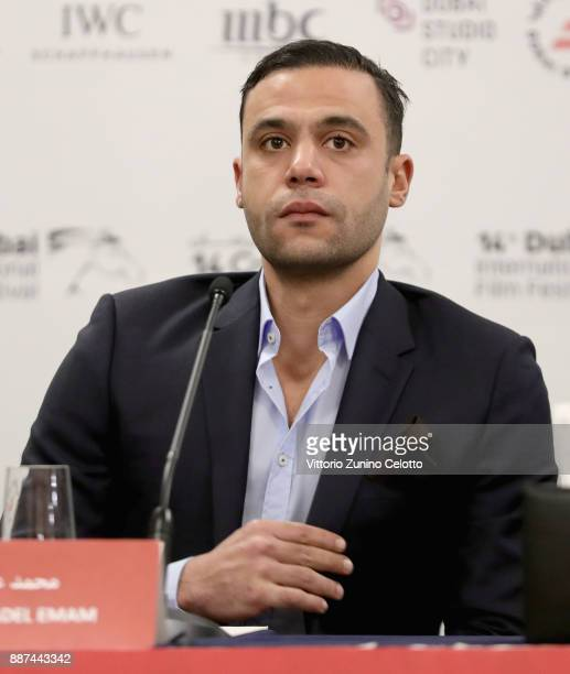 Actor Mohamed Adel Emam attends the Meet The Egyptian Stars press conference hosted by Empire International and Synergy Films during on day two of...