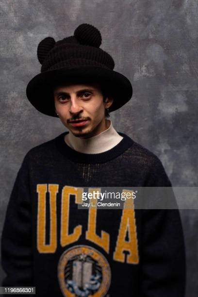 Actor Moises Arias from 'Blast Beat' is photographed in the LA Times Studio at the Sundance Film Festival on January 26 2020 in Park City Utah...