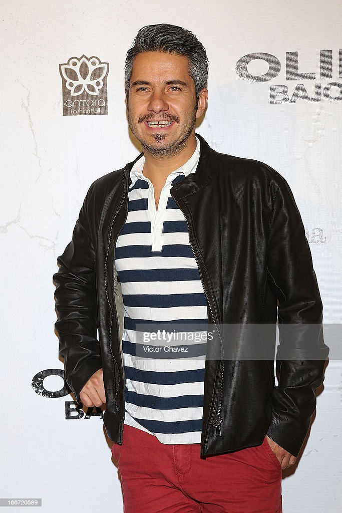 Actor Moises Arizmendi attends the 'Olympus Has Fallen' Mexico City Premiere red carpet on April 12, 2013 in Mexico City, Mexico.
