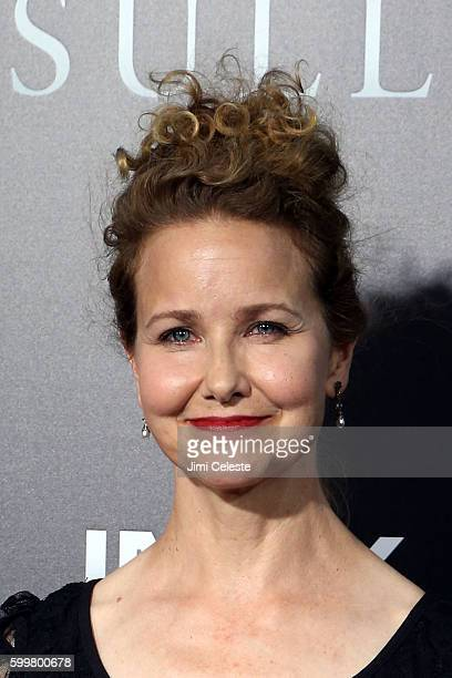 Actor Molly Hagan attends The New York Premiere of Warner Bros Pictures' and Village Roadshow Pictures' Sully at Alice Tully Hall at Lincoln Center...