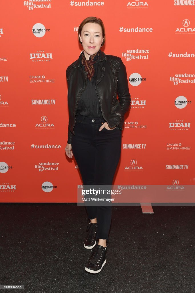 Actor Molly Parker attends the 'Madeline's Madeline' Premiere during the 2018 Sundance Film Festival at Park City Library on January 22, 2018 in Park City, Utah.