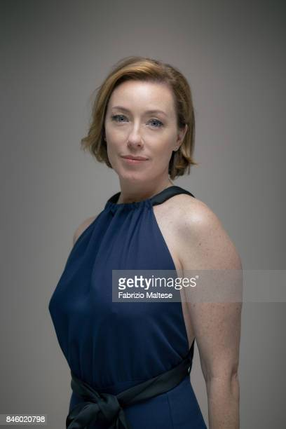 Actor Molly Parker is photographed on September 6 2017 in Venice Italy