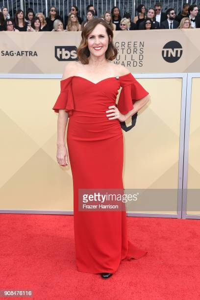 Actor Molly Shannon attends the 24th Annual Screen ActorsGuild Awards at The Shrine Auditorium on January 21 2018 in Los Angeles California