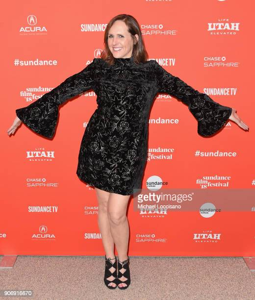 Actor Molly Shannon attends the 'Private Life' Premiere during the 2018 Sundance Film Festival at Eccles Center Theatre on January 18 2018 in Park...