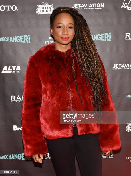 Actor Monique Coleman attends the Gamechanger Films reception at the RAND Luxury Escape during the 2018 Sundance Film Festival at The St Regis Deer...