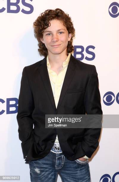 Actor Montana Jordan attends the 2018 CBS Upfront at The Plaza Hotel on May 16 2018 in New York City