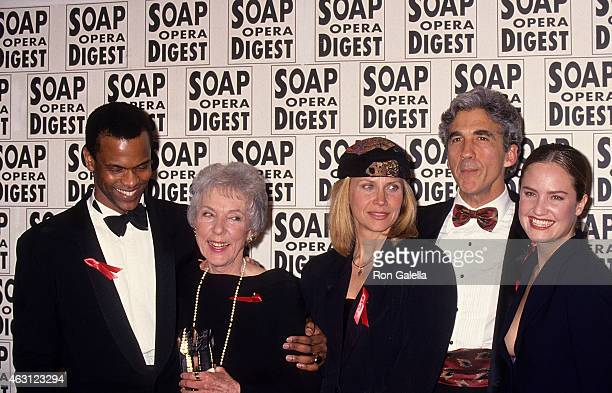 Actor Monti Sharp casting director Betty Rea actress Cindy Pickett Michael Zaslow and actress Sherry Stringfield attend the 10th Annual Soap Opera...