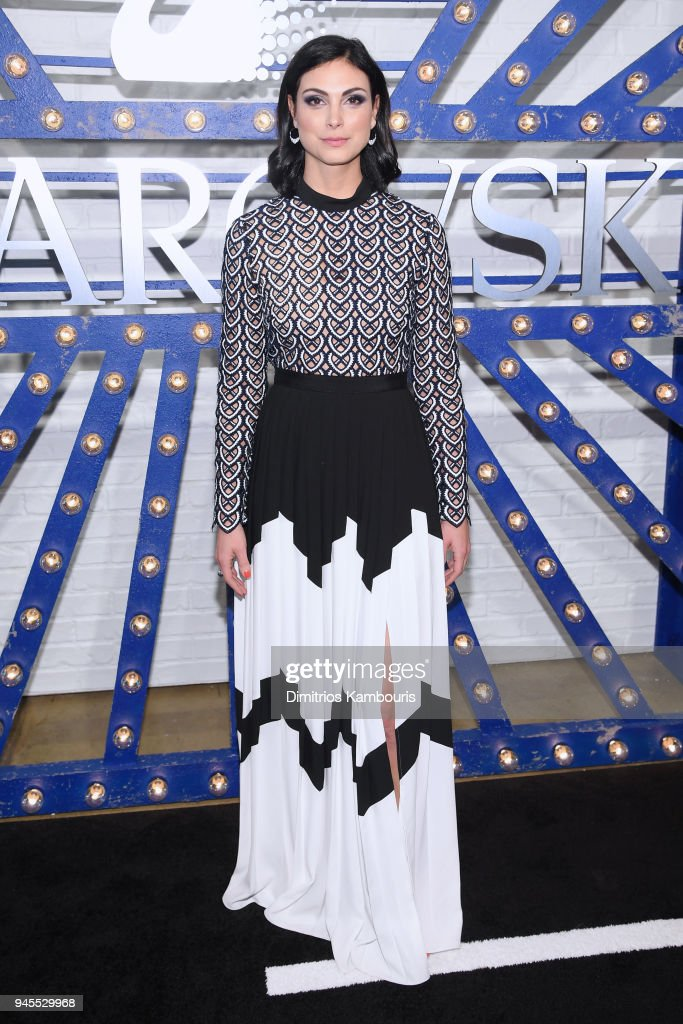 Actor Morena Baccarin attends Swarovskis Times Square Celebration at Hudson Mercantile, honoring the brands most recent store opening in New York City, on April 12, 2018.