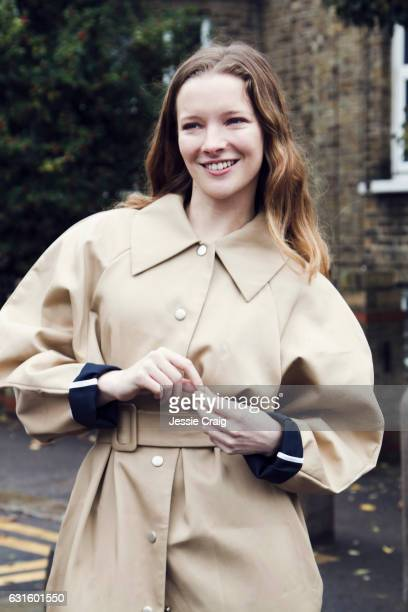 Actor Morfydd Clark is photographed for The Picture Journal on November 15 2016 in London England