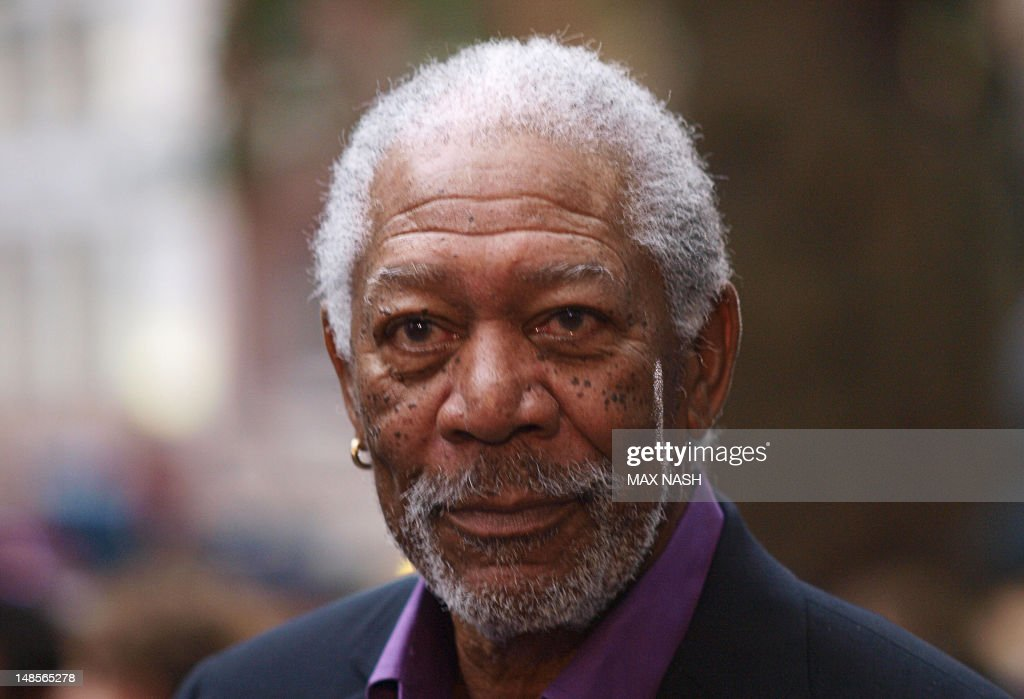 US actor Morgan Freeman arrives for the  : News Photo