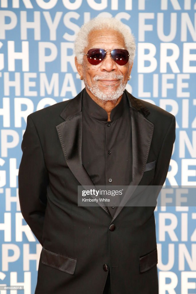 Actor Morgan Freeman attends the 2018 Breakthrough Prize at NASA Ames Research Center on December 3, 2017 in Mountain View, California.