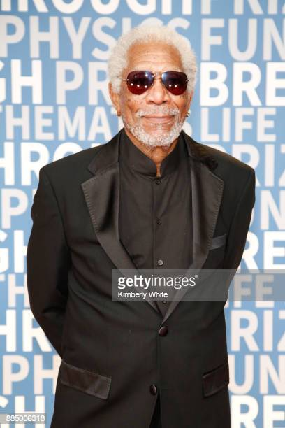 Actor Morgan Freeman attends the 2018 Breakthrough Prize at NASA Ames Research Center on December 3 2017 in Mountain View California