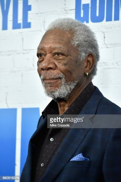 Actor Morgan Freeman attends the Going In Style New York Premiere at SVA Theatre on March 30 2017 in New York City