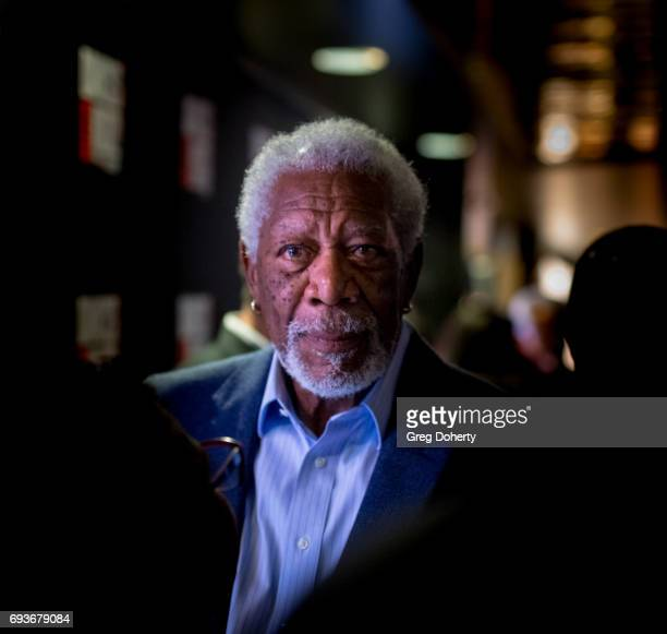 Actor Morgan Freeman attends the 'Landing Up' World Premiere during 20th Annual Dances With Films at TCL Chinese 6 Theatres on June 7 2017 in...
