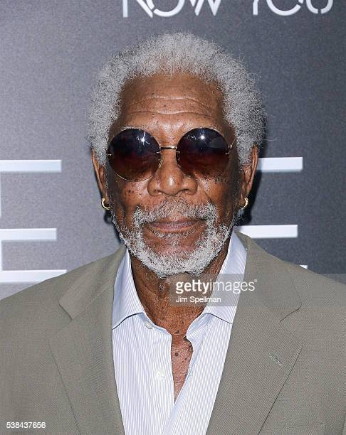 Actor Morgan Freeman attends the Now You See Me 2 world premiere at AMC Loews Lincoln Square 13 theater on June 6 2016 in New York City