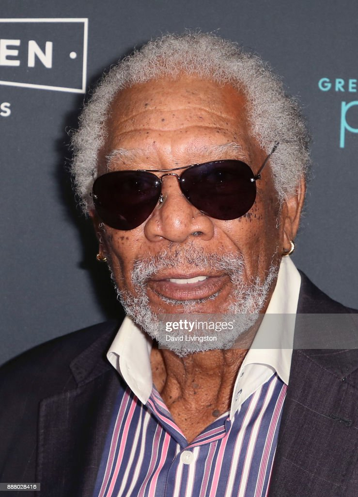 Actor Morgan Freeman attends the premiere of Broad Green Pictures' 'Just Getting Started' at ArcLight Hollywood on December 7, 2017 in Hollywood, California.