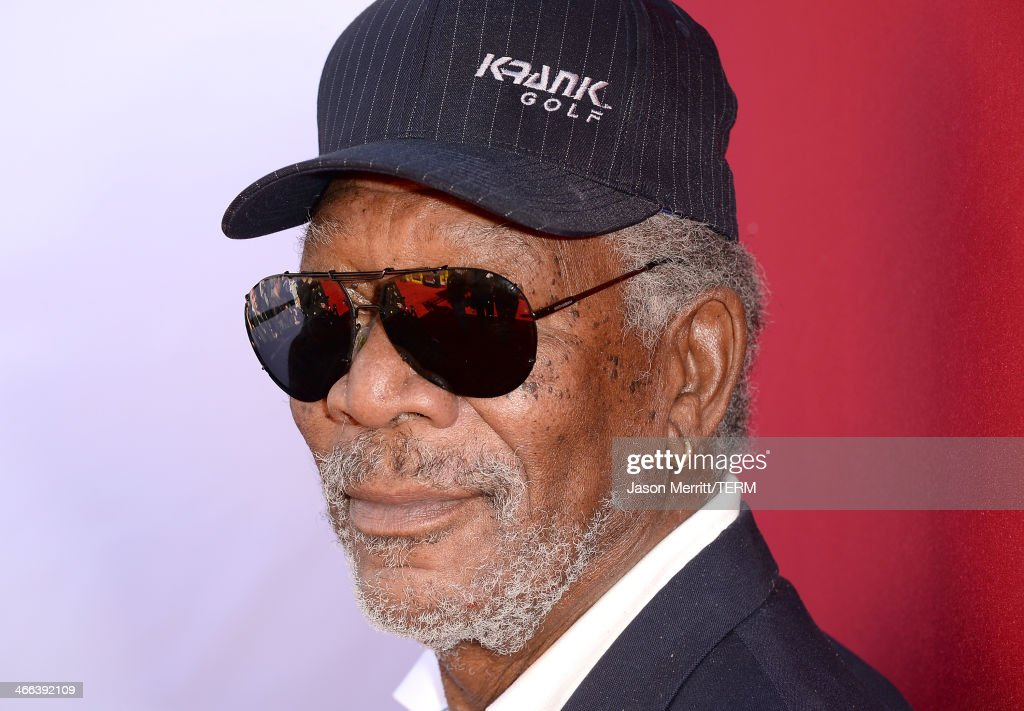 Actor Morgan Freeman attends the premiere of 'The LEGO Movie' at Regency Village Theatre on February 1, 2014 in Westwood, California.