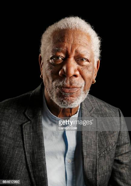 Actor Morgan Freeman is photographed for Los Angeles Times on March 27 2017 in New York City PUBLISHED IMAGE CREDIT MUST READ Carolyn Cole/Los...