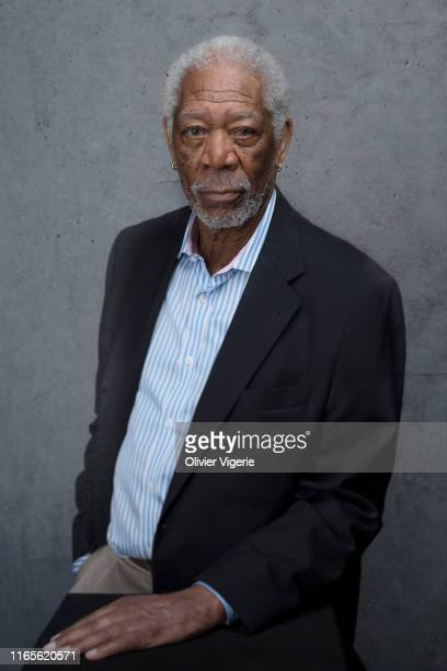 Actor Morgan Freeman poses for a portrait on September 7, 2018 in Deauville, France.