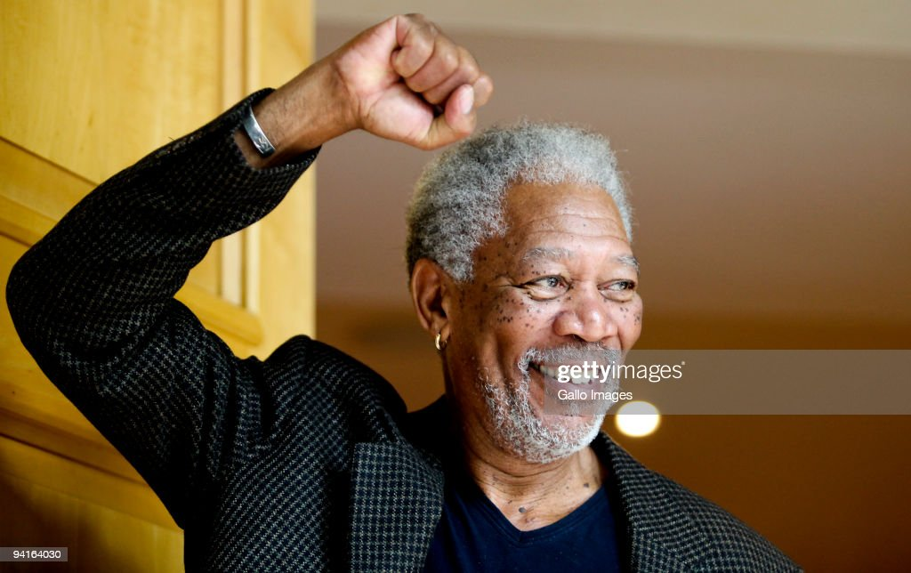 Morgan Freeman - 'Invictus' Photocall : News Photo
