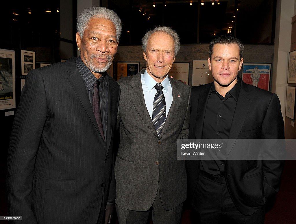 "Premiere Of Warner Bros. Pictures' & Spyglass Entertainment's ""Invictus"""