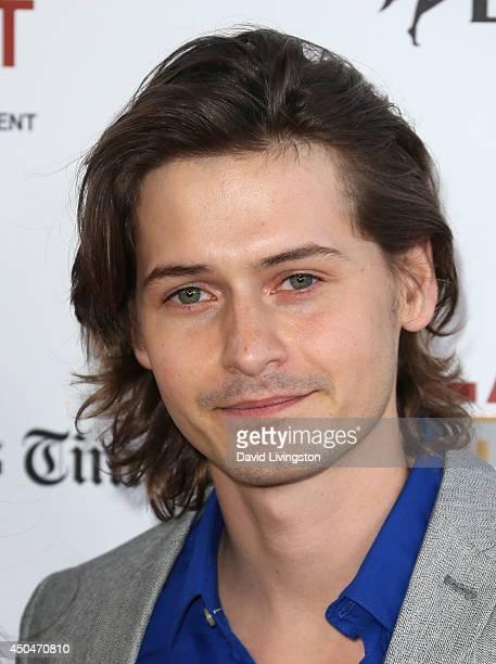 Actor Morgan McClellan attends the 2014 Los Angeles Film Festival opening night premiere of Snowpiercer at Regal Cinemas LA Live on June 11 2014 in...
