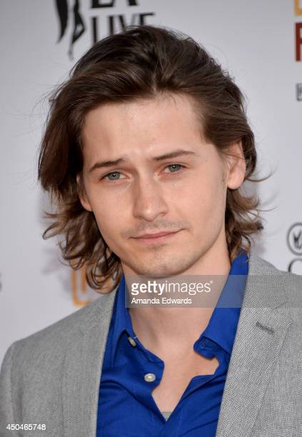 Actor Morgan McClellan attends the opening night premiere of Snowpiercer during the 2014 Los Angeles Film Festival at Regal Cinemas LA Live on June...