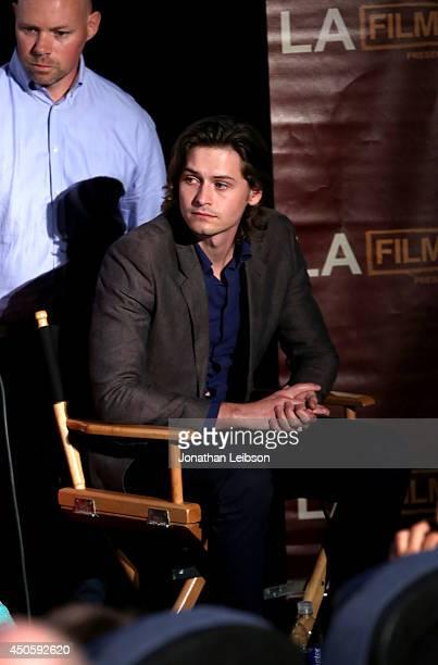 Actor Morgan McClellan attends the premiere of Inner Demons during the 2014 Los Angeles Film Festival at Regal Cinemas LA Live on June 13 2014 in Los...