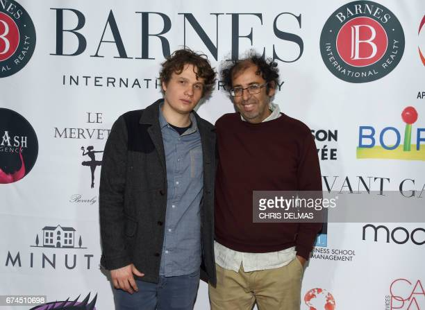 Actor Morgan Simon and director Bourlem Guerdgou attend the Barnes Los Angeles afterparty at COLCOA 'A Week Of French Film Premieres In Hollywood' on...