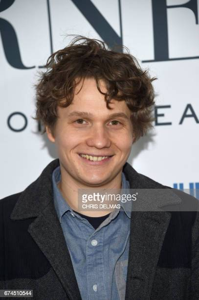 Actor Morgan Simon attends the Barnes Los Angeles afterparty at COLCOA 'A Week Of French Film Premieres In Hollywood' on April 27 in Beverly Hills...