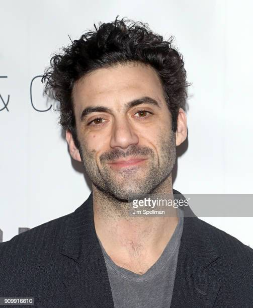 Actor Morgan Spector attends the Permission New York screening at Symphony Space on January 24 2018 in New York City