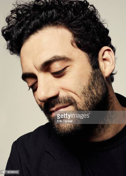 Actor Morgan Spector from 'Permission' poses at the 2017 Tribeca Film Festival portrait studio on April 22 2017 in New York City