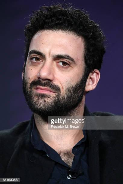 Actor Morgan Spector of the series 'The Mist' speaks onstage during the Spike TV portion of the 2017 Winter Television Critics Association Press Tour...
