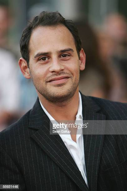 Actor Moritz Bleibtreu arrives at the German Television Awards at the Coloneum on October 15 2005 in Cologne Germany