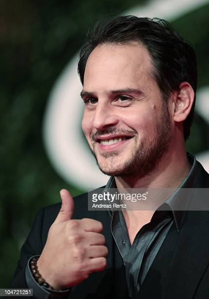 Actor Moritz Bleibtreu attends the 'Goethe' German Premiere at CineStar on October 4 2010 in Berlin Germany