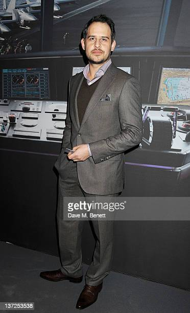 Actor Moritz Bleibtreu attends the IWC Top Gun Gala Event at 22nd SIHH High Jewellery Fair on at the Palexpo Exhibition Hall January 17, 2012 in...