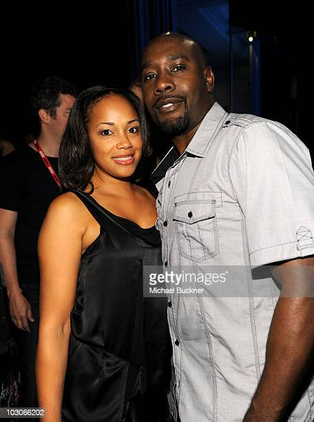 Actor Morris Chestnut and wife Pam Byse attend TV Guide Magazine The 2010 Hot List during ComicCon 2010 at San Diego Convention Center on July 23...