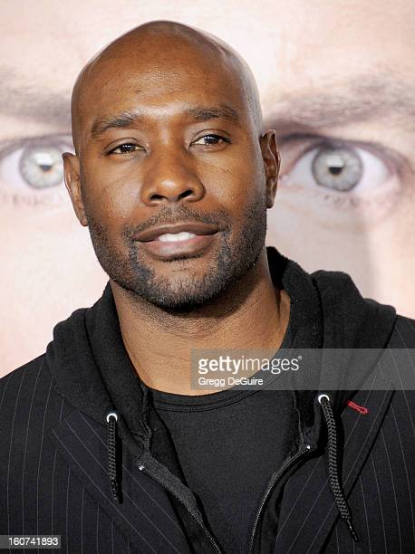 """Actor Morris Chestnut arrives at the """"Identity Thief"""" Los Angeles premiere at Mann Village Theatre on February 4, 2013 in Westwood, California."""