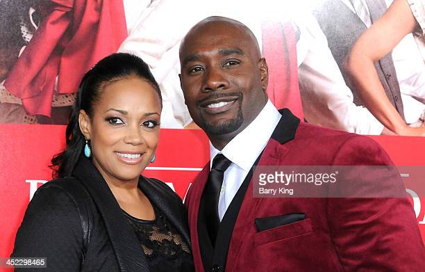 Actor Morris Chestnut attends and wife Pam Byse attend the premiere of 'The Best Man Holiday' on November 5 2013 at TCL Chinese Theatre in Hollywood...