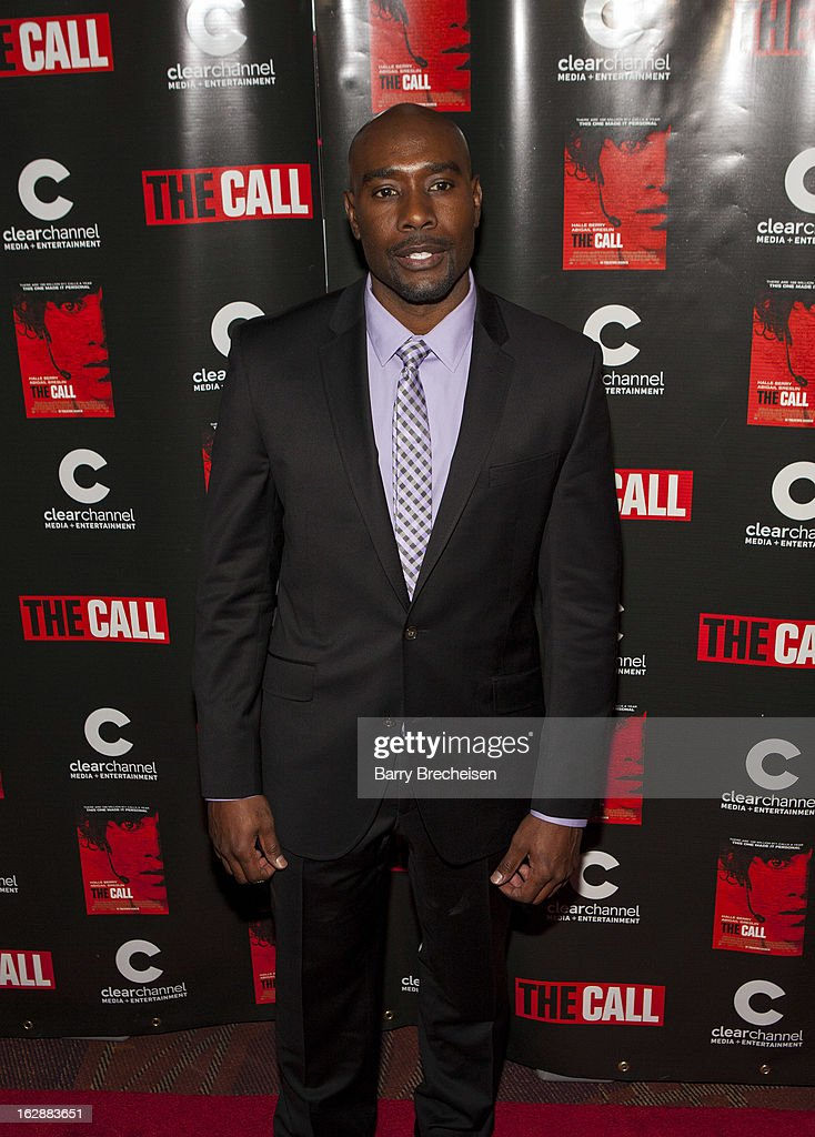 Actor Morris Chestnut attends 'The Call' premiere at Showplace Icon Theater on February 28, 2013 in Chicago, Illinois.