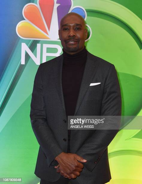 Actor Morris Chestnut attends the NBC midseason press junket at The Four Seasons in New York on January 24 2019