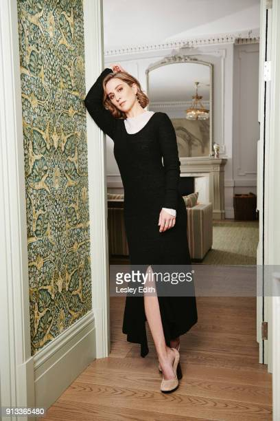 Actor Morven Christie is photographed for the Telegraph on September 13 2017 in London England