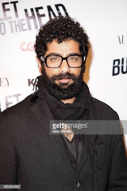 Actor Mousa Kraish arrives at KoreAm Journal and Audrey Magazine's advanced screening of 'Bullet To The Head' at CGV Cinemas on January 31 2013 in...