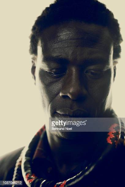 Actor Moustapha Mbengue is photographed for Arte Magazine on May 2018 in Cannes France
