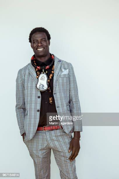 Actor Moustapha Mbengue is photographed for Self Assignment on May 2018 in Cannes France